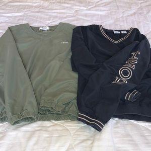 BUNDLE OF 2 IZOD pullovers EUC